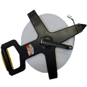 100 Meter Measuring Tape with Open Frame