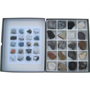 20 Specimen Basic Rock Collection Boxed Set