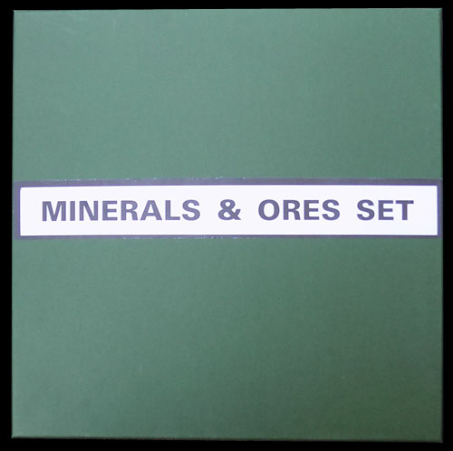 Mineral And Ore 36 Specimen Boxed Set - A