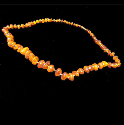 Amber Necklace 20 inch