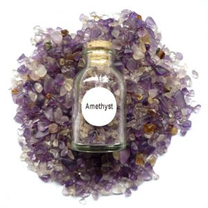 Amethyst Gemstone Bottle