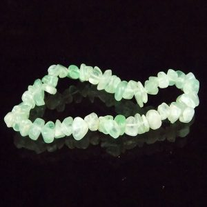 Apatite Gemstone Chip Bracelet