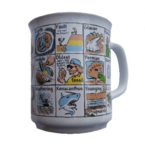A to Z of Geology Coffee Mug