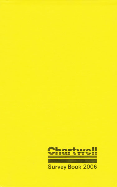 Chartwell Field Notebook (2006) Cover