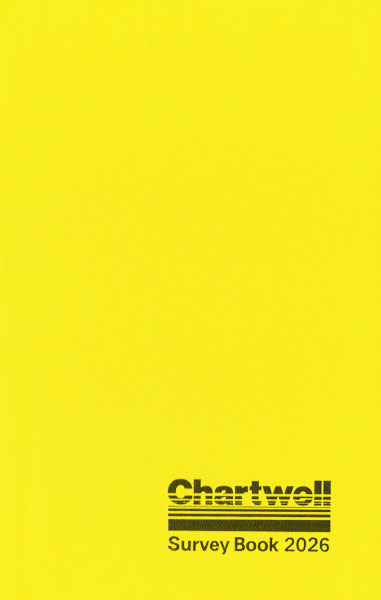 Chartwell Field Notebook (2026) Cover