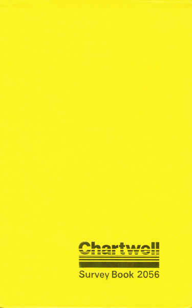Chartwell Field Notebook (2056) Cover