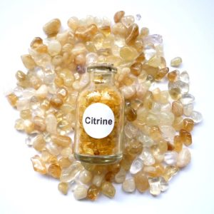 Citrine Gemstone Bottle