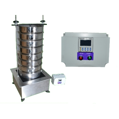200 mm diameter Sieve Shaker with Digital Controls