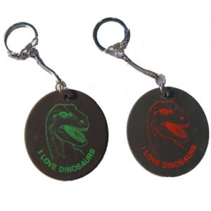 Dino Head Key Chain