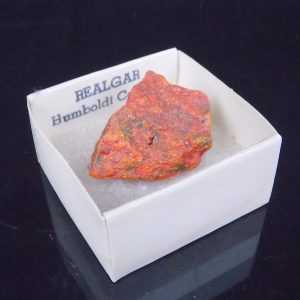 Realgar from Nevada, USA