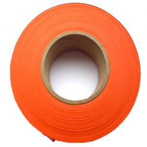 Orange Flagging Tape