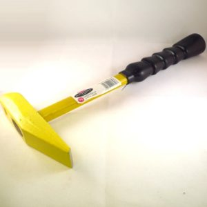 2.5 lbs Geological Hammer with Chisel Edge Head and Fibreglass Handle