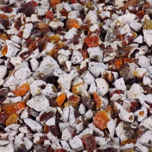Fire Opal Chips - 50 grams