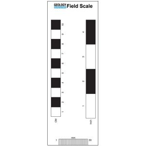 Geological and Geography Field Scale Card