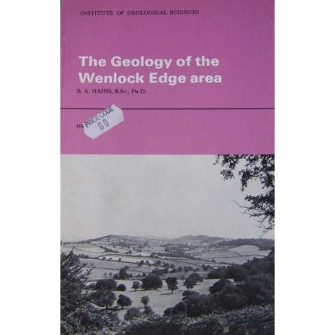 Wenlock Edge Classical Areas Geology Guide