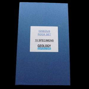 15 Specimen Boxed Igneous Rock Set - 1