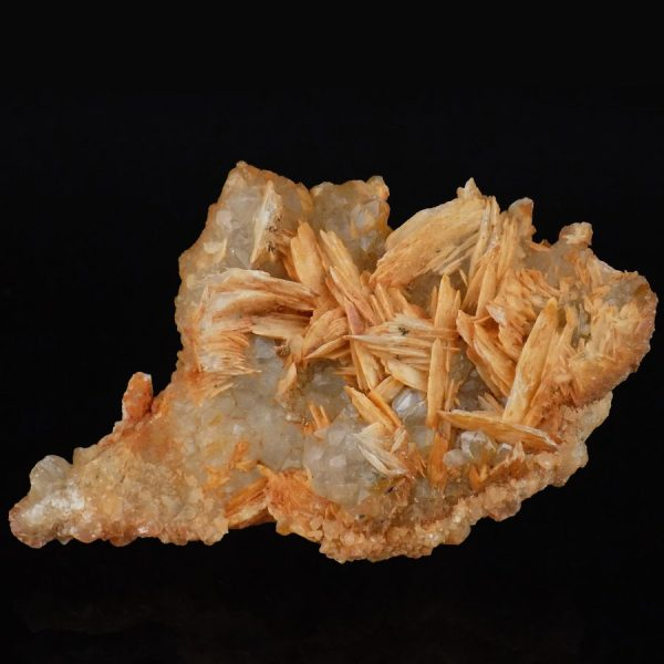 Natural Citrine With Baryte