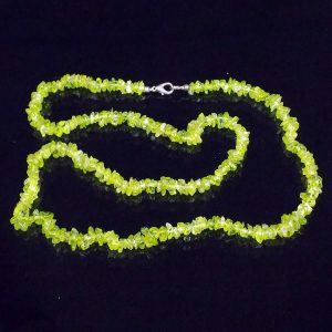 Peridot Gemstone Necklace