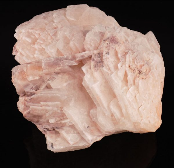 Pink Baryte Crystals - Florence Mine - A