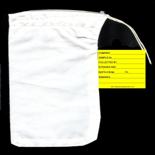 """5.5"""" x 7"""" Protexo Bag with Sewn in Label"""