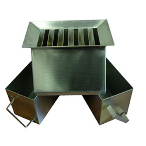 Stainless Steel Riffle Box with 12.7 mm Slots Heavy Duty