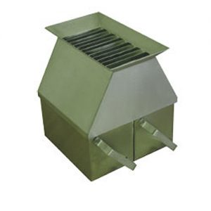 Stainless Steel Riffle Box with 6.35 mm Slots Heavy Duty