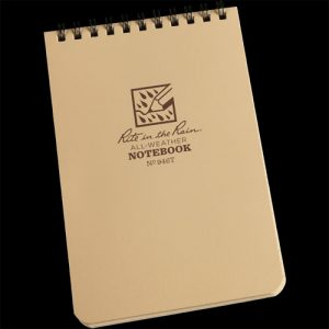 Rite In The Rain Universal Field Notebook- Tan 964T