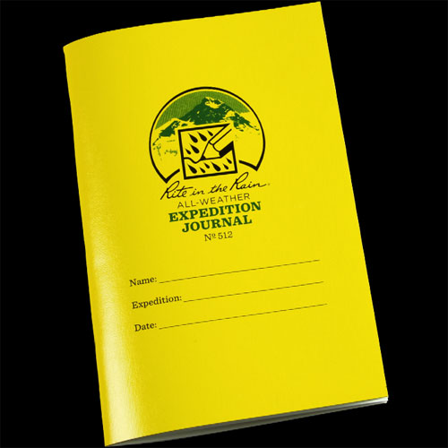 Rite In The Rain Expedition Field Journal 512