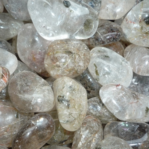 Rutilated Quartz Tumblestones