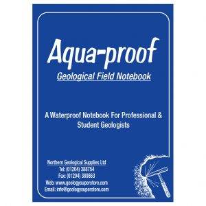 Aqua-proof Geological Field Notebook - 1