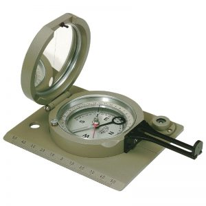 COVIS Geological Sighting Compass Clinometer with Diopter by Breithaupt Kassel