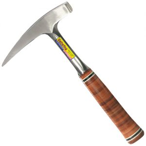 Estwing E-30 Geological Hammer with Leather Grip Handle