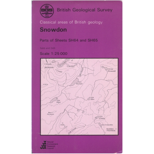 Ardnamurchan Central Complex (B&Sup) Classical Areas Geology Map