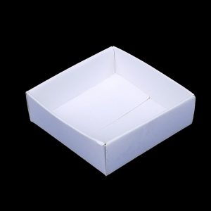 3 x 3 Inch White Card Specimen Trays