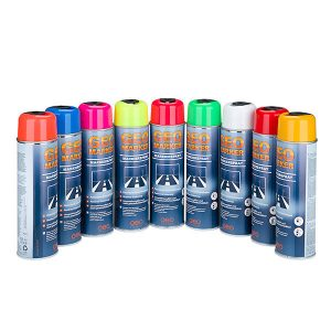 Geo Marker Marking Spray Colour Range