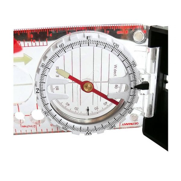 K and R Alpin Compass Clinometer Side View