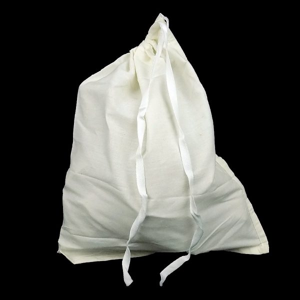 Polycotton Drawstring Bag 304 x 381 mm full and closed