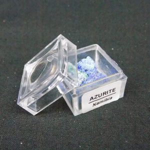 Azurite in small mag box