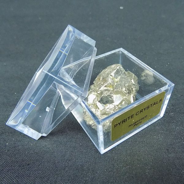 Fools Gold ( Pyrite ) in Large Mag Box
