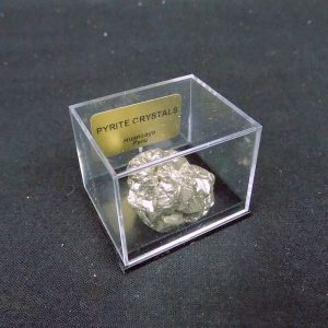 Pyrite in Gem Box
