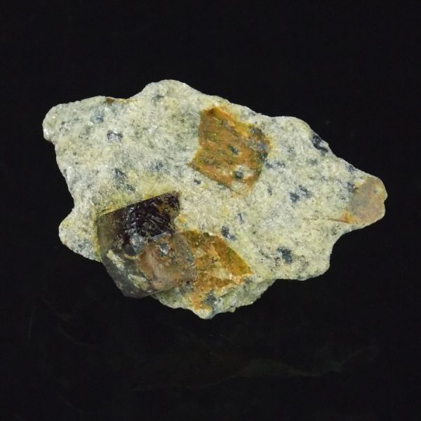 Garnet Mica Schist from Fauske in Norway Single Piece with Large Crystal