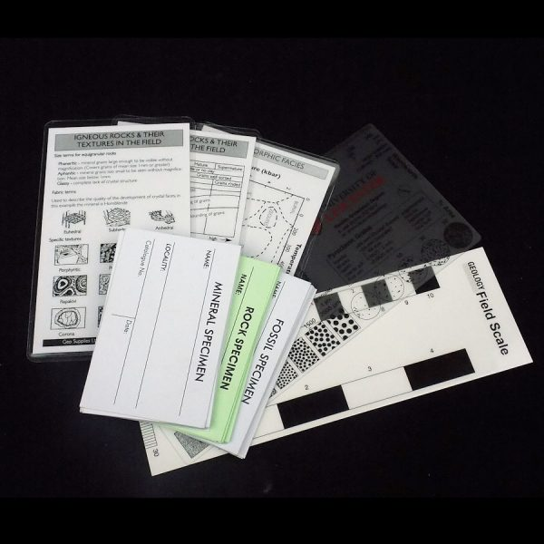 Field Data Cards Pack
