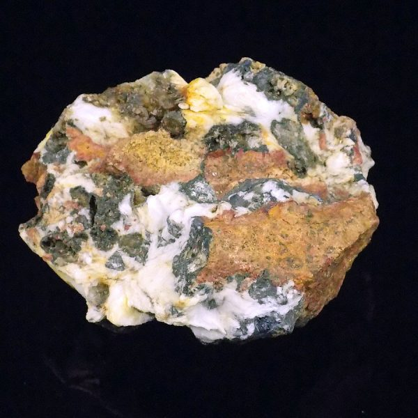 Siderite with Baryte and Galena from Wales