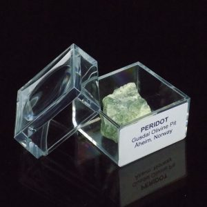 Peridot in Magnifier Box