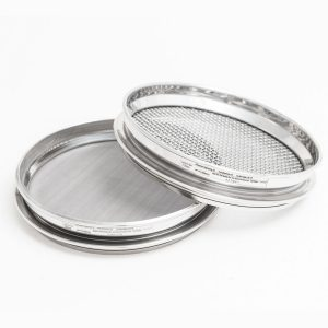 300 mm Half Height Diameter Stainless Steel Sieves by Glenammer
