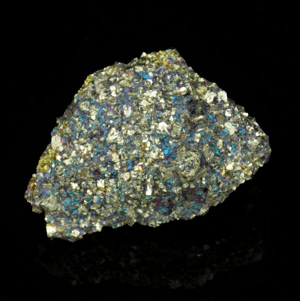 Pyrite with Peacock Ore - 2
